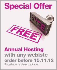 Website Design Special Offer - Free Hosting